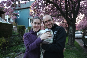 Family shot on our street.