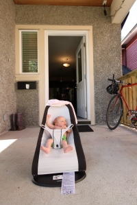 …when you have a baby security guard like me at home :)