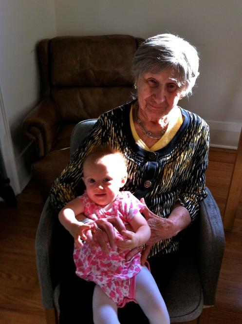 Miluju tě, prababička!