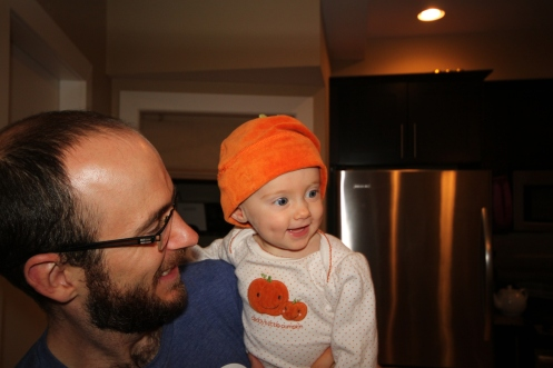 Papa's Little Pumpkin.