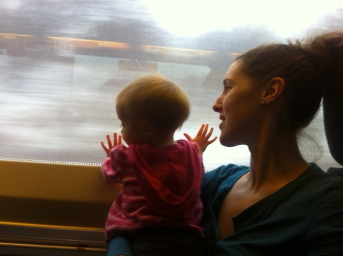 First train ride.