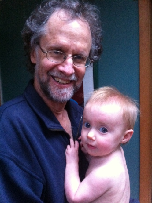 Snuggles with Grandpa