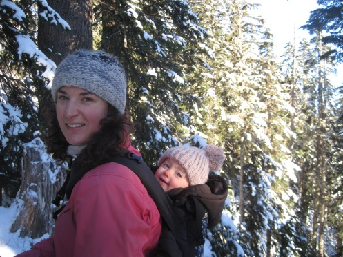 Hiking with Auntie Joce at Grouse Mountain